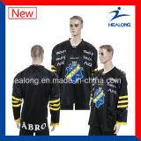 Healongの最も売れ行きの良い昇華リーグ戦のアイスホッケージャージー