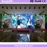 Pared video de interior publicitaria a todo color del LED