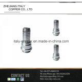 Adattatore del tubo flessibile di Steelmale del carbonio di SAE/adattarsi (AV9025)