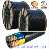 XLPE Eletctic Power Cable for Power Transmission (0.6 / 1kV-3 * 240 + 2 * 120)