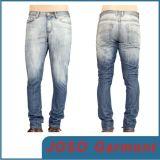 Jeans maigres d'hommes de lavage de sable (JC3029)