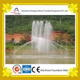 Grande fontaine interactive de flottement de musique de fontaine d'eau de lac