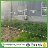 Новой загородка гальванизированная конструкцией стальная временно