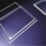 Низкое стекло прозрачной пленки утюга, стекло ливня/ясное стекло