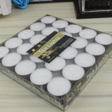 50PC witte Kaars Tealight in Polybag 16g