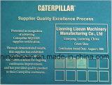 "Caterpiilar ""모충 Komatsu Volvo 히타치 Hyundai, Kato, 케이스를 위한 s에 의하여 임명되는 불도저 강철 궤도 단화 공급자"