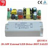 28-34W externe volle Spannung lokalisierter LED Fahrer mit Cer TUV