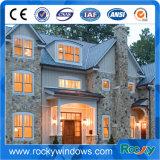 Aluminiumflügelfenster, das oberstes örtlich festgelegtes Fenster öffnet