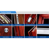 China Security Steel Door mit Popular Design (M-S6028)