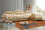 Sofà classico della mobilia del cuoio domestico del salone (UL-NSC090)