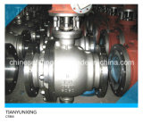 API Flange 또는 Flanged Floating/Trunnion Stainless Steel Ball Valve
