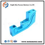 Blauwe Geanodiseerde Delen van het Aluminium, CNC Delen van het Malen, CNC van de Precisie het Machinaal bewerken