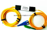 1X2 Single Mode Fiber Optic Fused Fbt Coupler