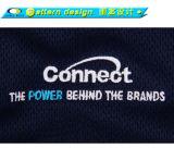 Kundenspezifischer Embroidry konstanter Dri passender Polo-Hemd-Großverkauf
