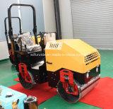 Doppeltes Dum Stahldieselrad-Minivibrationsrolle Perkins-mit hydraulischer Steuerung