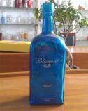 Botella de cristal impresa por encargo con el tapón del corcho