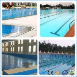 Het Waterdichte Membraan van pvc met de Steun van de Stof voor Zwembad, het Membraan van pvc voor Zwembad
