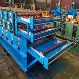 Ibr Dach-Panel-Maschinen-Paralleltrapez-Dach-Blatt-Rolle, die Maschine bildet