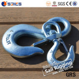 S322 Drop Forged Chain Swivel Hook avec serrures