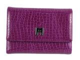 Qualität Croc Muster-echter Kuh-Leder-Fonds (HW250030)