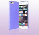 Cubierta ultrafina transparente del teléfono móvil de la cautela barato de 0.3m m TPU para la caja del teléfono celular del iPhone 6/6s