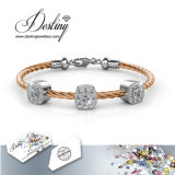 De Kristallen van de Juwelen van het lot van Vierkante Armband Swarovski