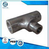 O OEM presta serviços de manutenção às peças centrais do misturador da maquinaria do CNC da elevada precisão da liga