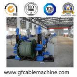Linha de produção plástica da máquina da extrusora do cabo de fio