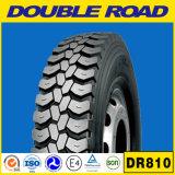 Pneumático sem câmara de ar resistente 315/80r22.5 385/65r22.5 1200r24 do caminhão do fabricante chinês do pneumático