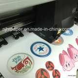 Papel de transferência térmica de Eco/rolo solventes claros Printable do vinil para o tamanho do vestuário 61cmx50m