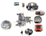 半自動袖の収縮包装機械