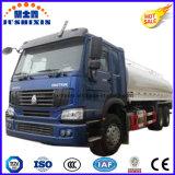acier du carbone de 20000liters 6silos Gasoling/camion-citerne aspirateur 6*4 diesel pour le marché de Philippines