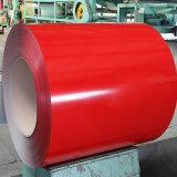 A cor dura cheia revestiu a chapa de aço galvanizada PPGI da bobina de aço