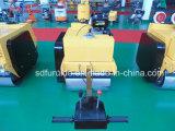2 톤 손에 의하여 운영하는 두 배 드럼 도로 롤러 진동기 (FYL-S600C)