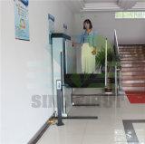 levage de fauteuil roulant hydraulique électrique de ménage de 1.5m