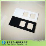 El panel blanco adicional del vidrio Tempered del precio 4m m del Manufactory con la impresión de la pantalla de seda