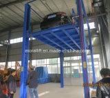 Elevatore idraulico del veicolo dei quattro alberini per parcheggio