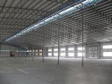 Gruppo di lavoro chiaro prefabbricato della struttura d'acciaio dei materiali da costruzione