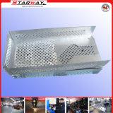 Fabricación de metal de hoja del CNC del recinto con el doblez del CNC del corte del laser