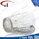 caneca 370ml de vidro sem chumbo branca super (CHM8052)