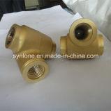 カスタマイズされた真鍮の投資鋳造弁の部品、無くなったワックスの鋳造
