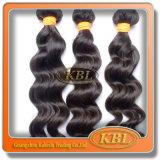 3 выдвижения волос оптовой продажи девственницы Remy ранга индийских