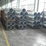 Molino del final del tubo de aleación de aluminio 6063 T6 T5