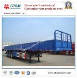 De Zijwand van het Vervoer van de Lading stortgoed van de fabrikant/Aanhangwagen van de Vrachtwagen van de Daling de Zij Semi