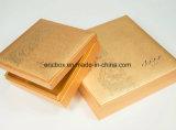 Cassa da imballaggio del regalo del documento blu di natale Jy-GB09 con il nastro sul coperchio di casella