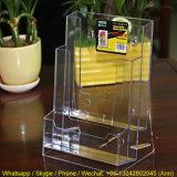 Étagère acrylique d'étalage de vente chaude