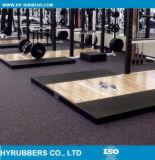 Gummigymnastik-Fußboden-/Sports-Gummi-Fliese