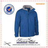 Men&acute Top-Quality; Mola de S/revestimento ocasional Wind-Proof clássico do outono