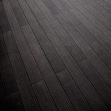 Revestimento de bambu ao ar livre popular, revestimento de bambu Reconstituted, cor carbonizada profunda 20mm