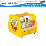 Animal Design Kids Gabinete de armazenamento de madeira de estante (Hc-3706)